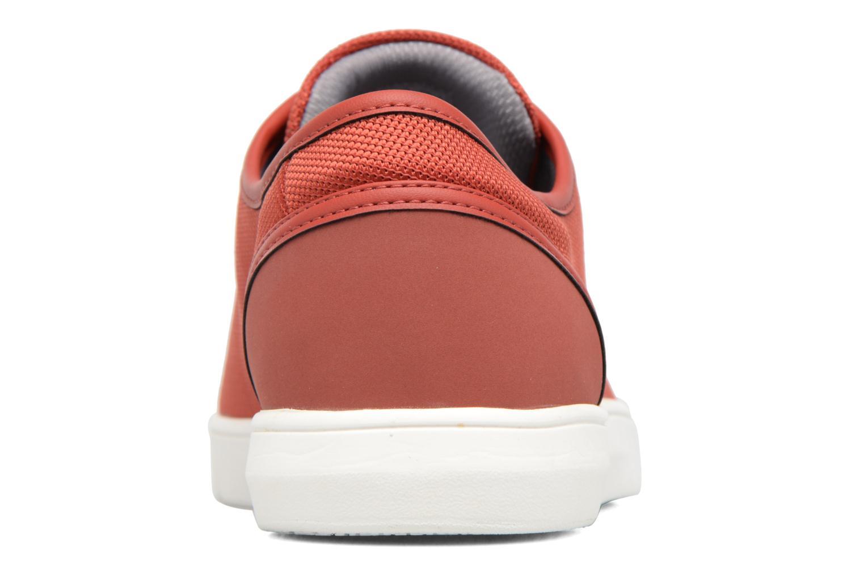 Sneakers Clarks Lander Cap Rood rechts