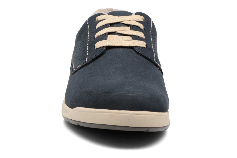 Chaussures à lacets Clarks Stafford Plan Bleu vue portées chaussures