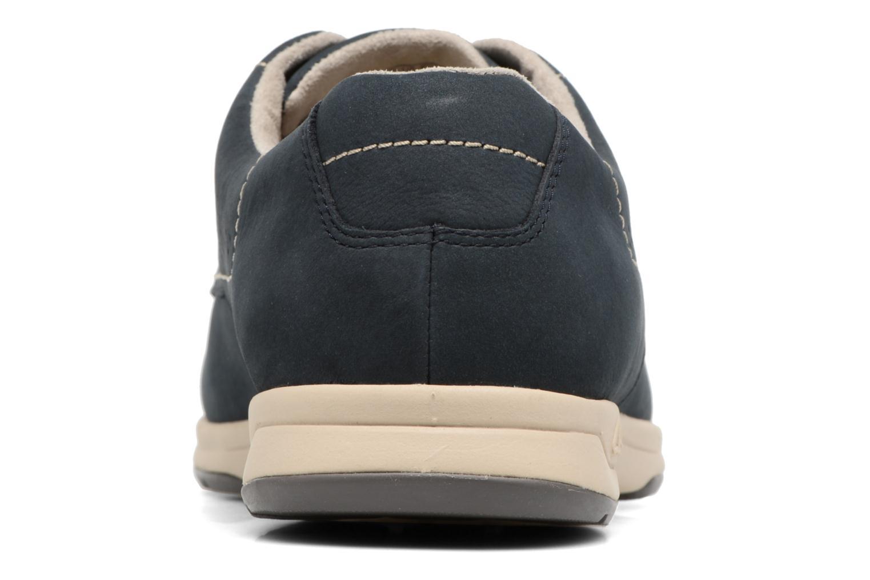 Chaussures à lacets Clarks Stafford Plan Bleu vue droite