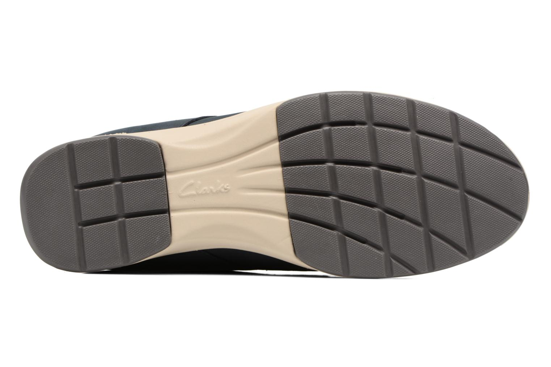 Chaussures à lacets Clarks Stafford Plan Bleu vue haut