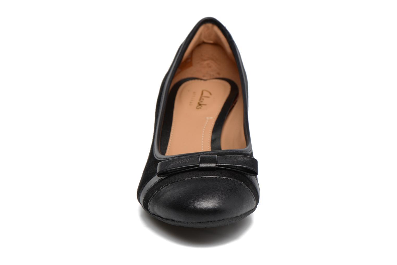 Escarpins Clarks Denny Fete Noir vue portées chaussures