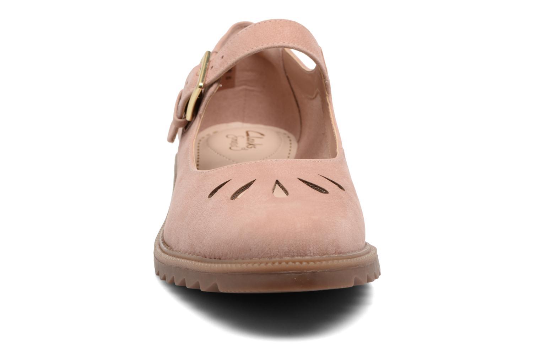 Ballerines Clarks Griffin Marni Rose vue portées chaussures