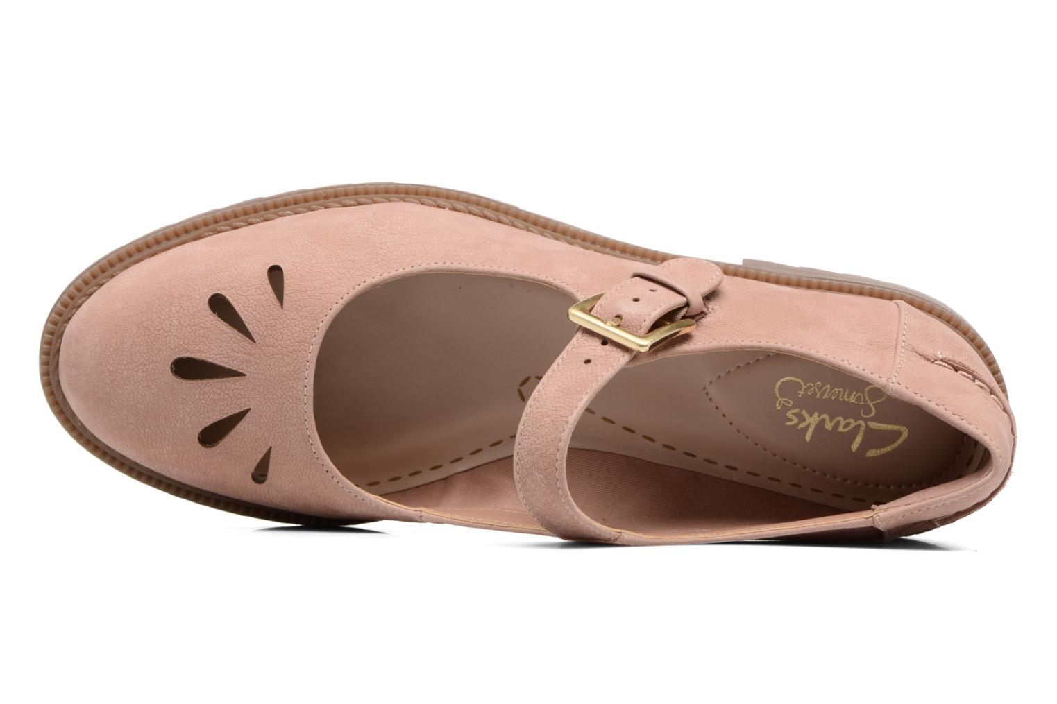 Ballet pumps Clarks Griffin Marni Pink view from the left