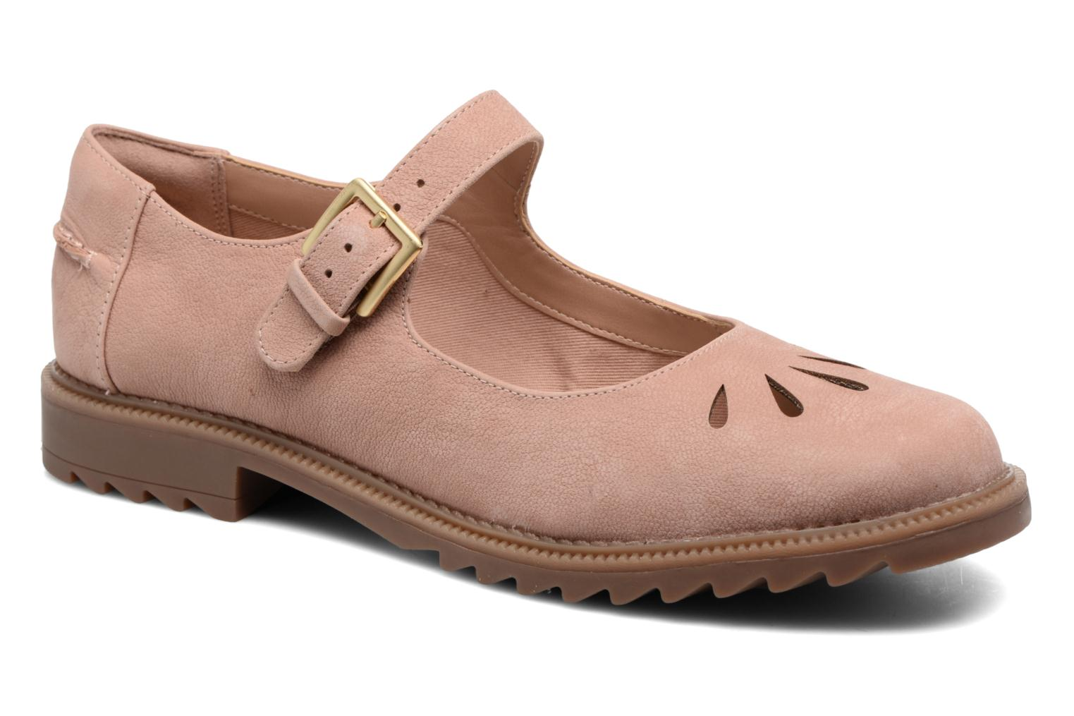 Ballet pumps Clarks Griffin Marni Pink detailed view/ Pair view