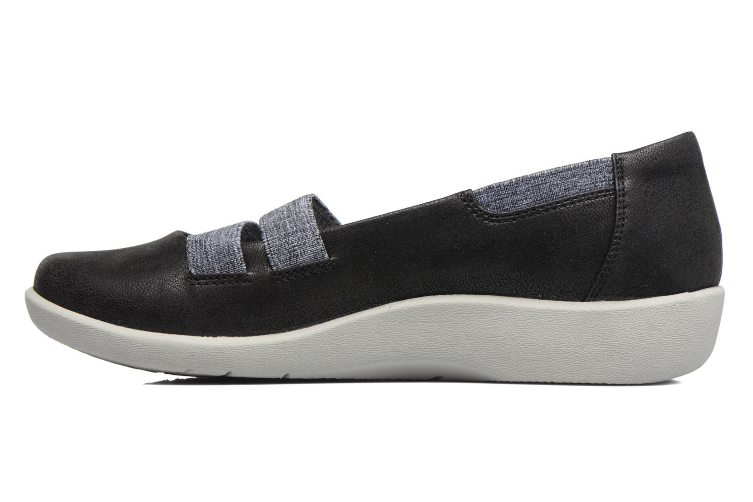 Ballerines Clarks Sillian Rest Noir vue face