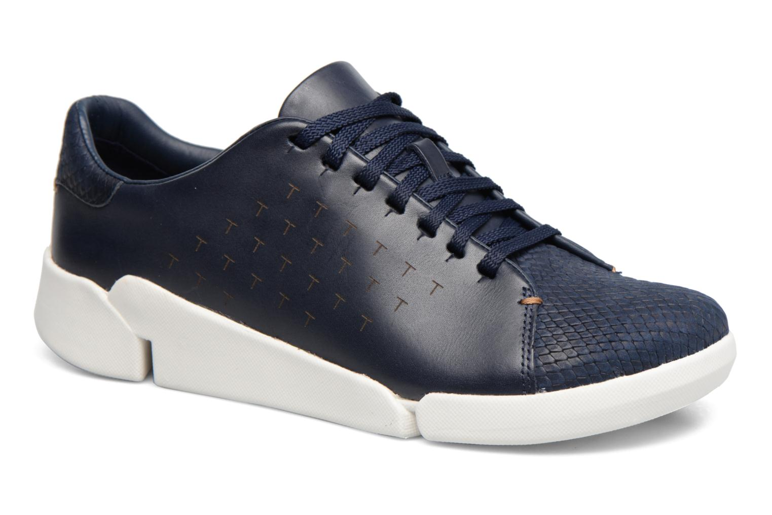 Marques Chaussure femme Clarks femme Tri Abby Navy leather