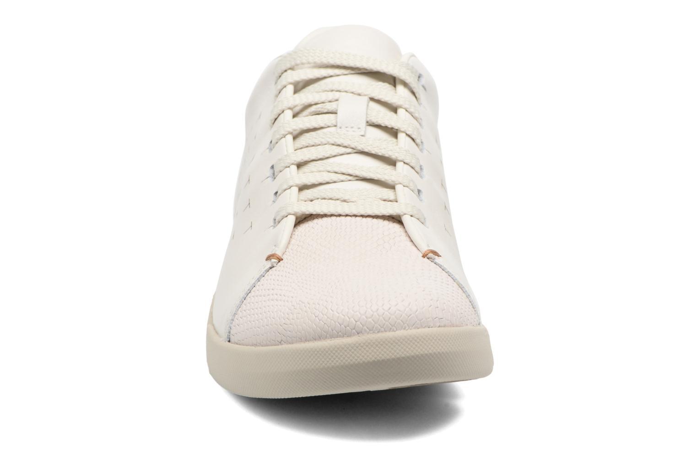 Baskets Clarks Tri Abby Blanc vue portées chaussures