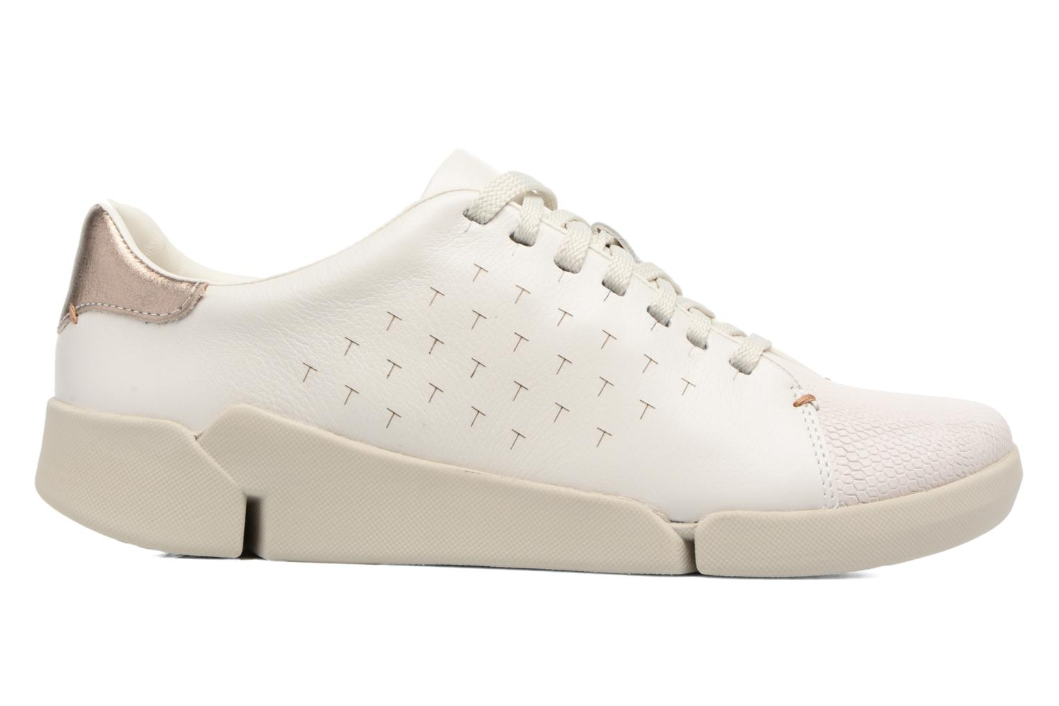 Tri Abby White leather