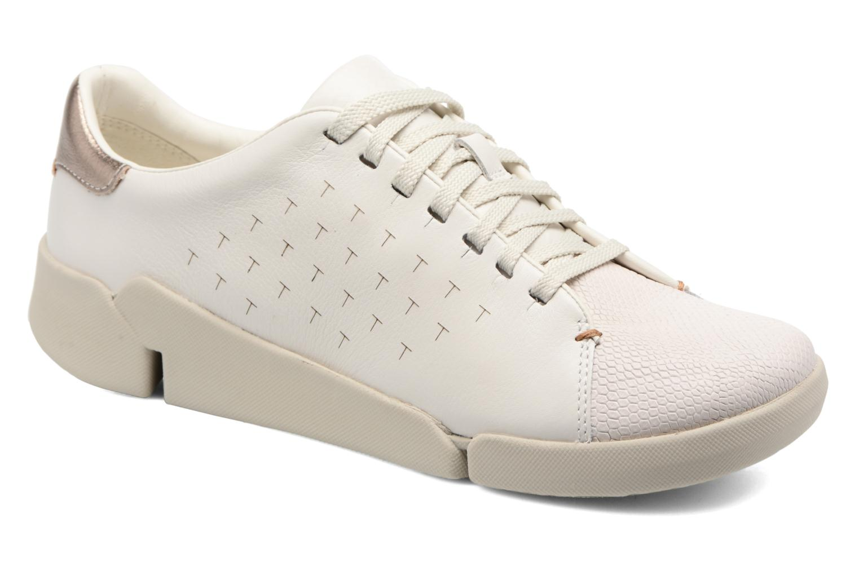 Tri Abby White leather