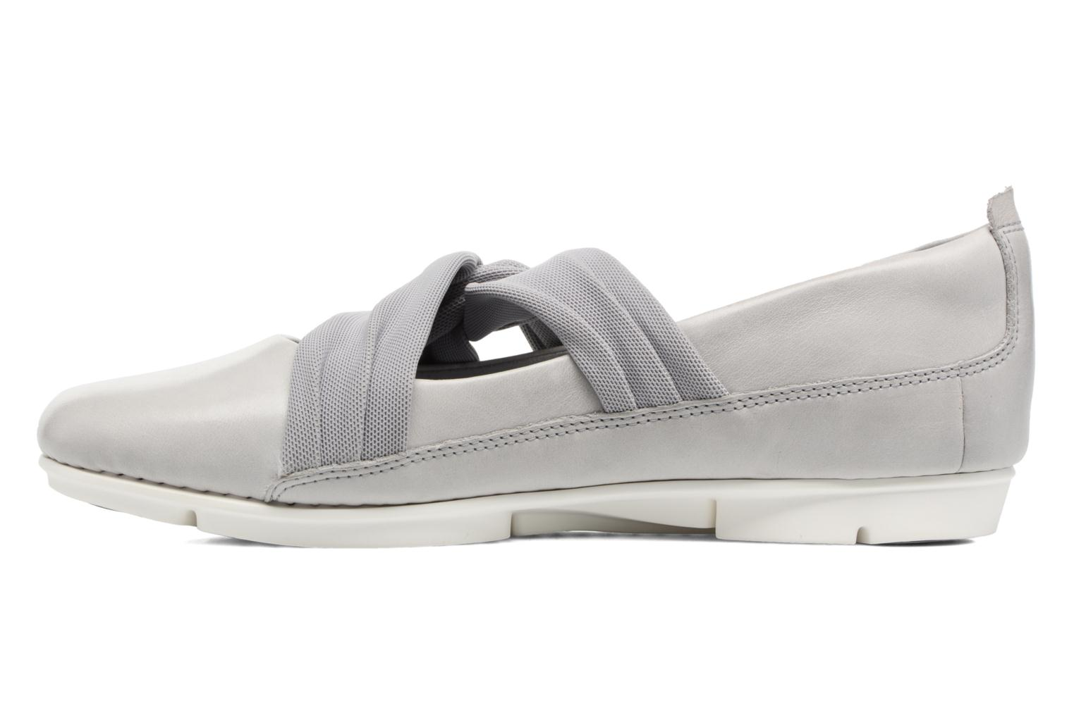 Ballet pumps Clarks Tri Accord Grey front view