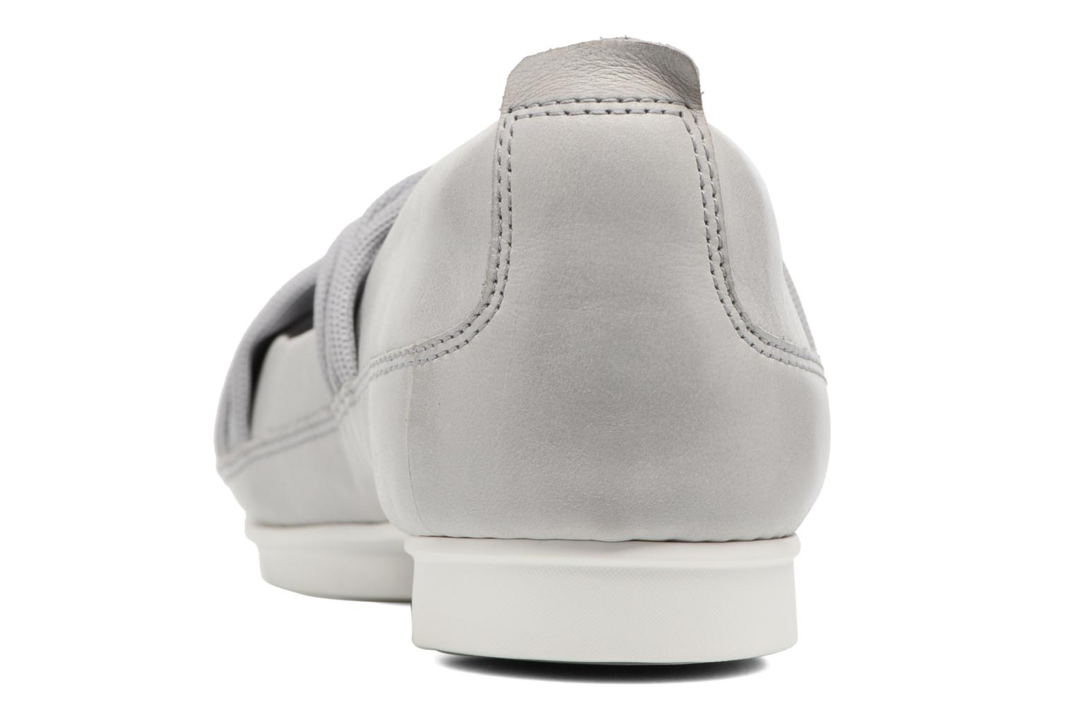 Ballet pumps Clarks Tri Accord Grey view from the right