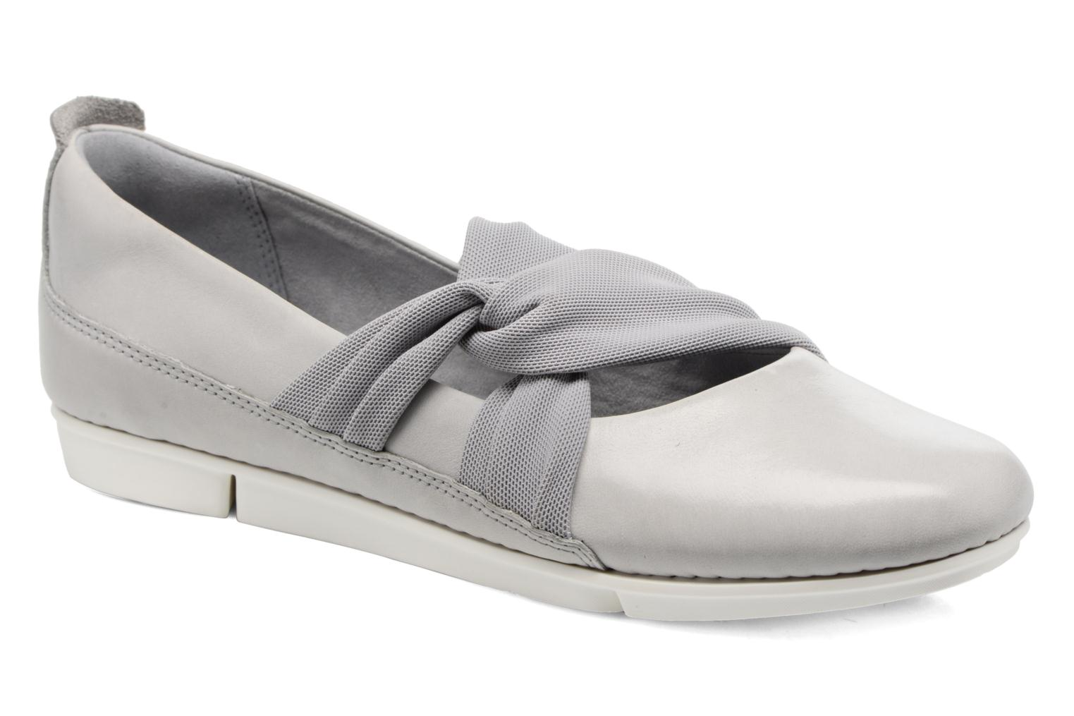 Ballet pumps Clarks Tri Accord Grey detailed view/ Pair view