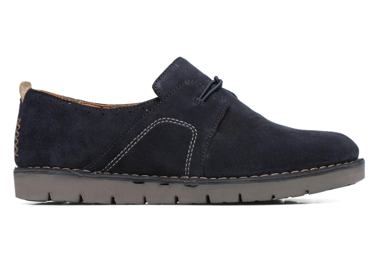 Chaussures à lacets Clarks Un Ava Bleu vue derrière