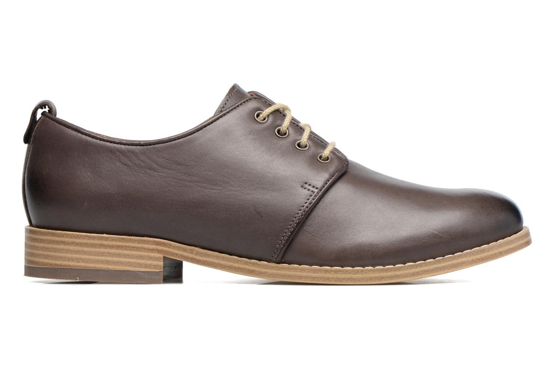 Chaussures à lacets Clarks Zyris Toledo Gris vue derrière