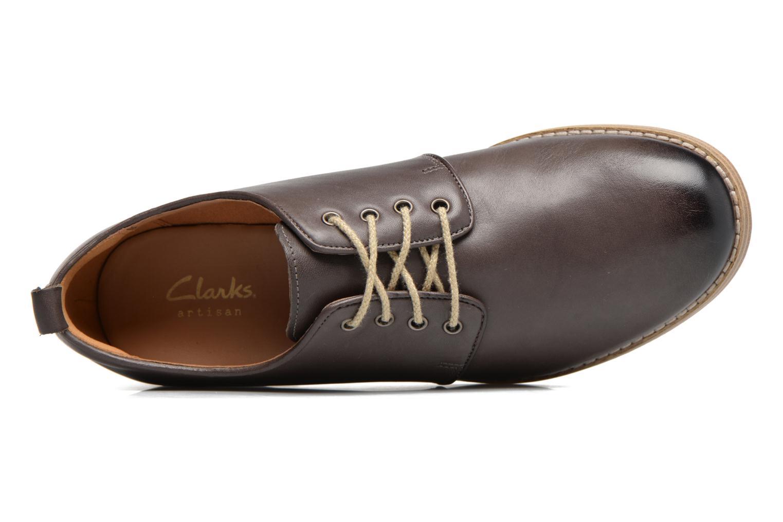 Chaussures à lacets Clarks Zyris Toledo Gris vue gauche