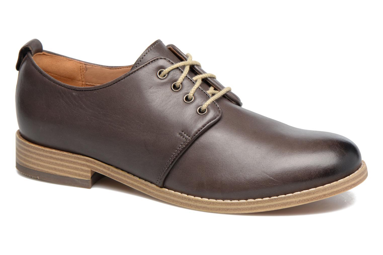 Chaussures à lacets Clarks Zyris Toledo Gris vue détail/paire