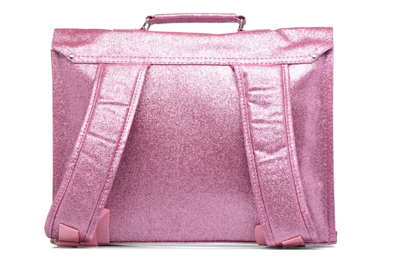 Scolaire Bakker Made With Love Glitter 37cm Rose vue face