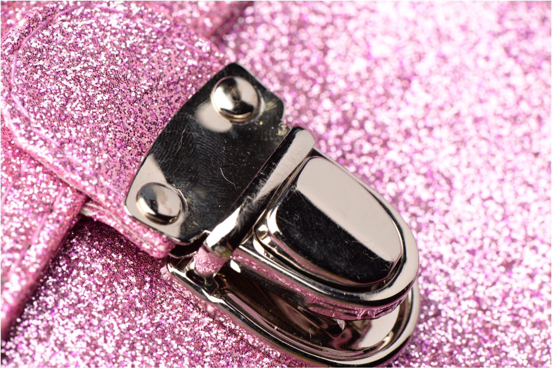 Scolaire Bakker Made With Love Glitter 37cm Rose vue gauche