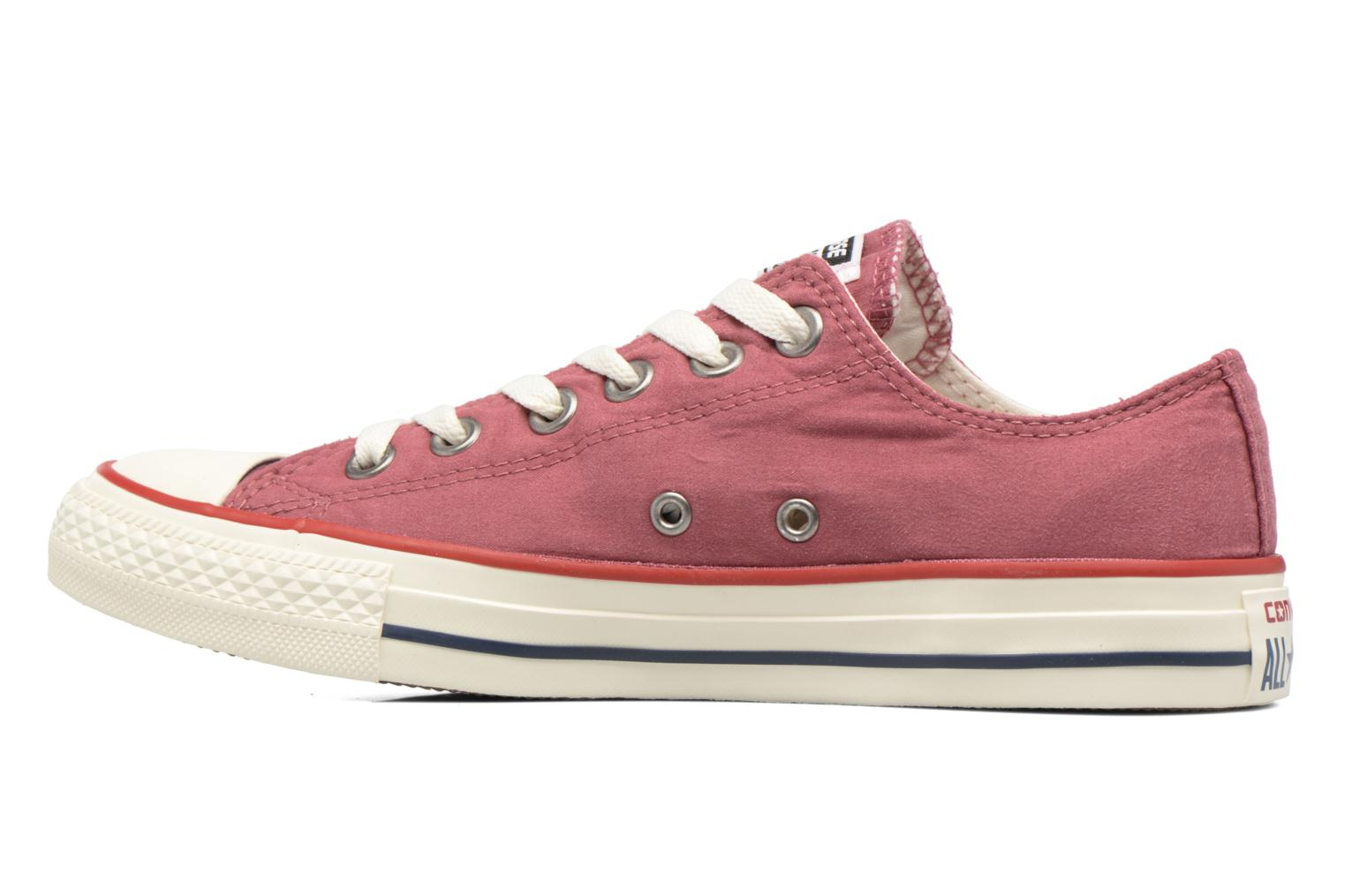 Baskets Converse Chuck Taylor All Star Ombre Wash Ox W Rose vue face