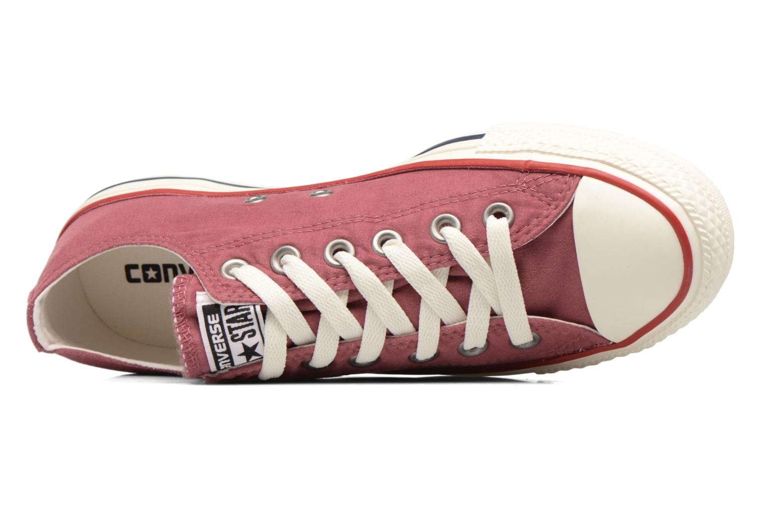 Baskets Converse Chuck Taylor All Star Ombre Wash Ox W Rose vue gauche