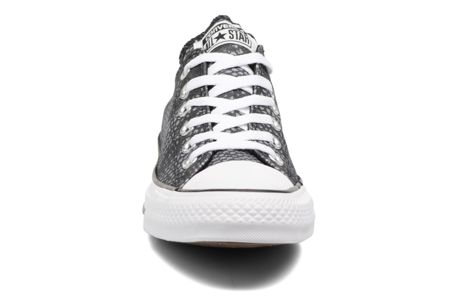 Sneakers Converse Chuck Taylor All Star Lurex Snake Ox Grijs model