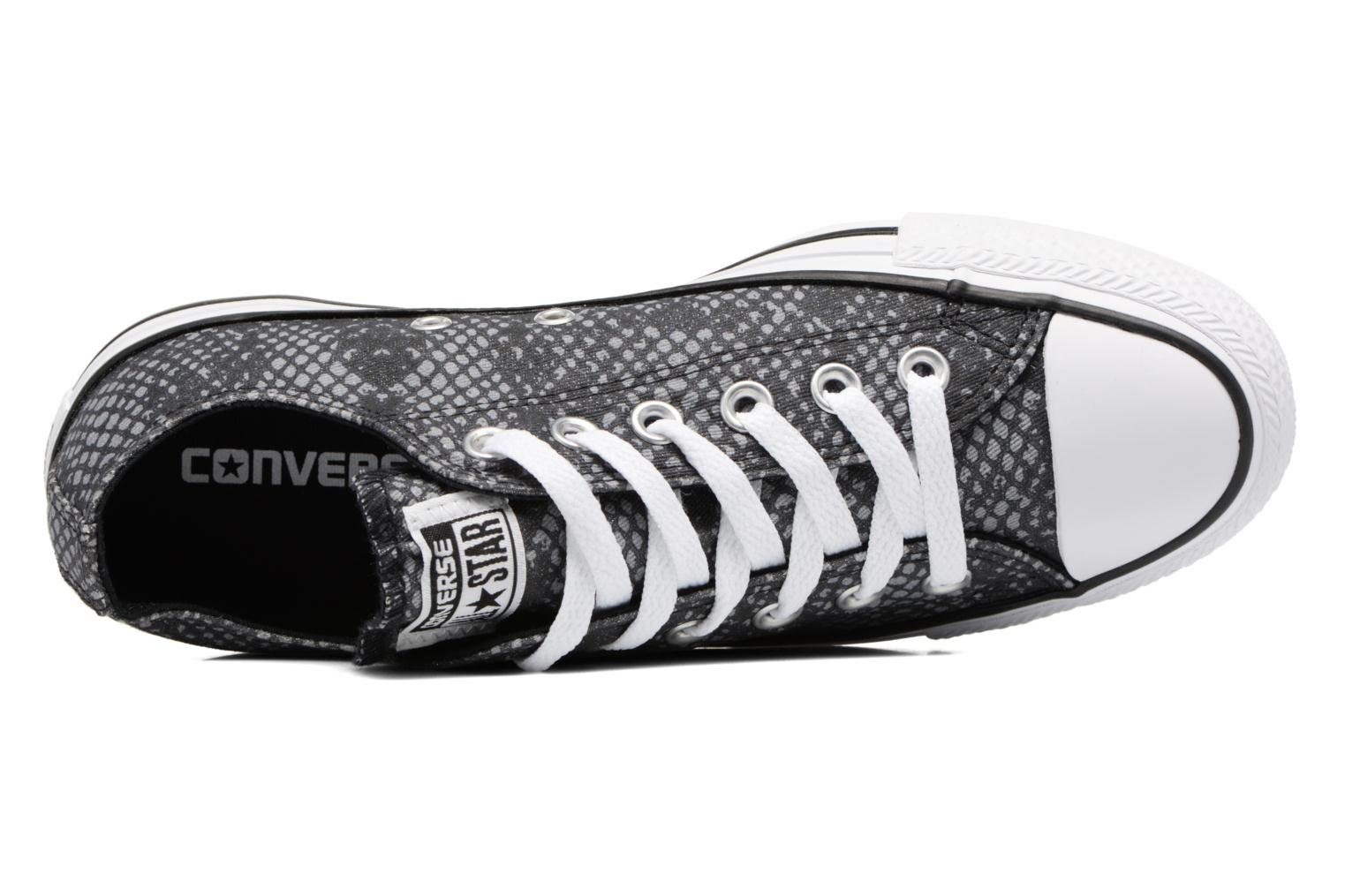 Sneakers Converse Chuck Taylor All Star Lurex Snake Ox Grijs links