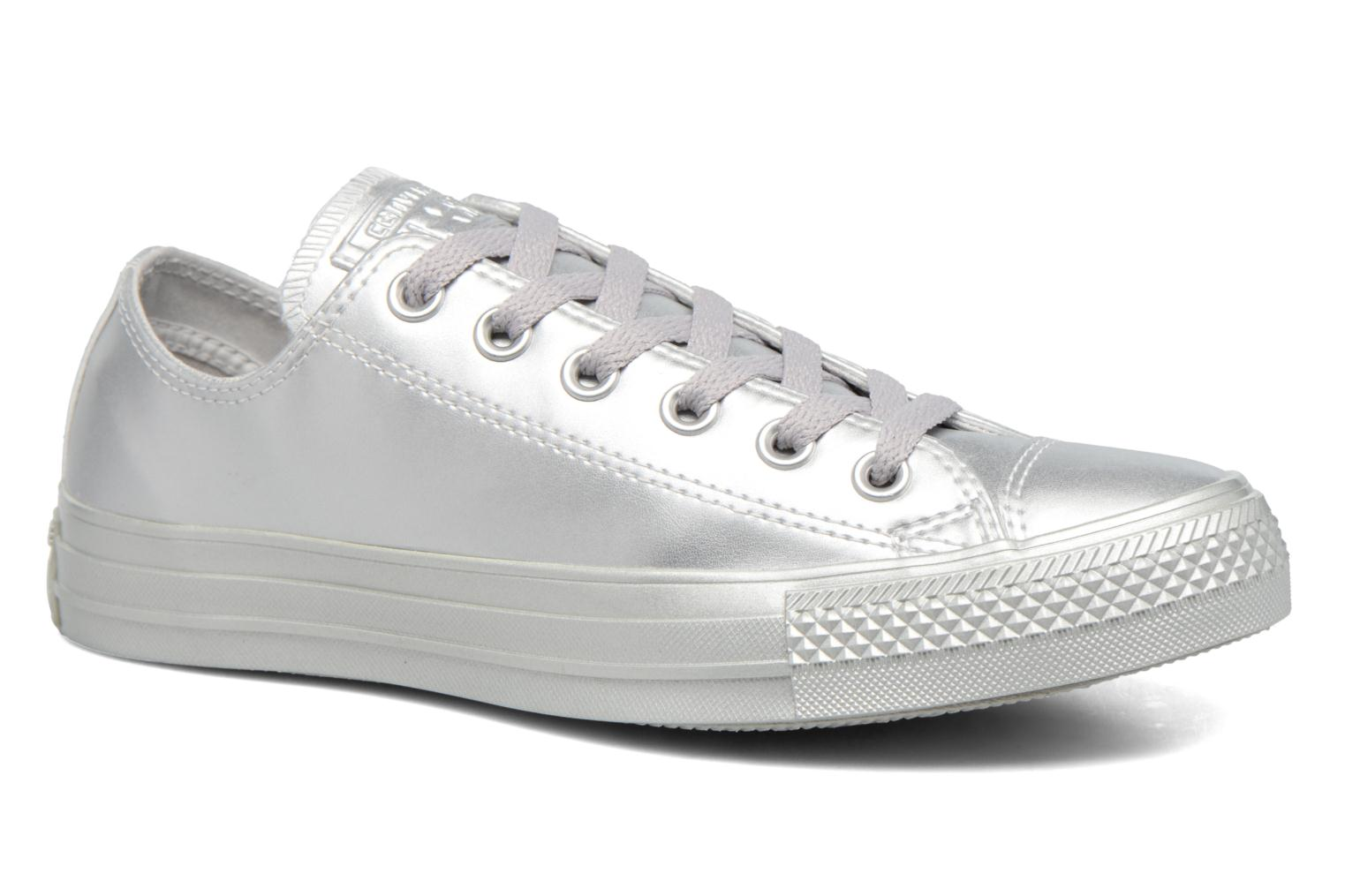 Chuck Taylor All Star Liquid Metallic Ox Silver/Silver/Silver