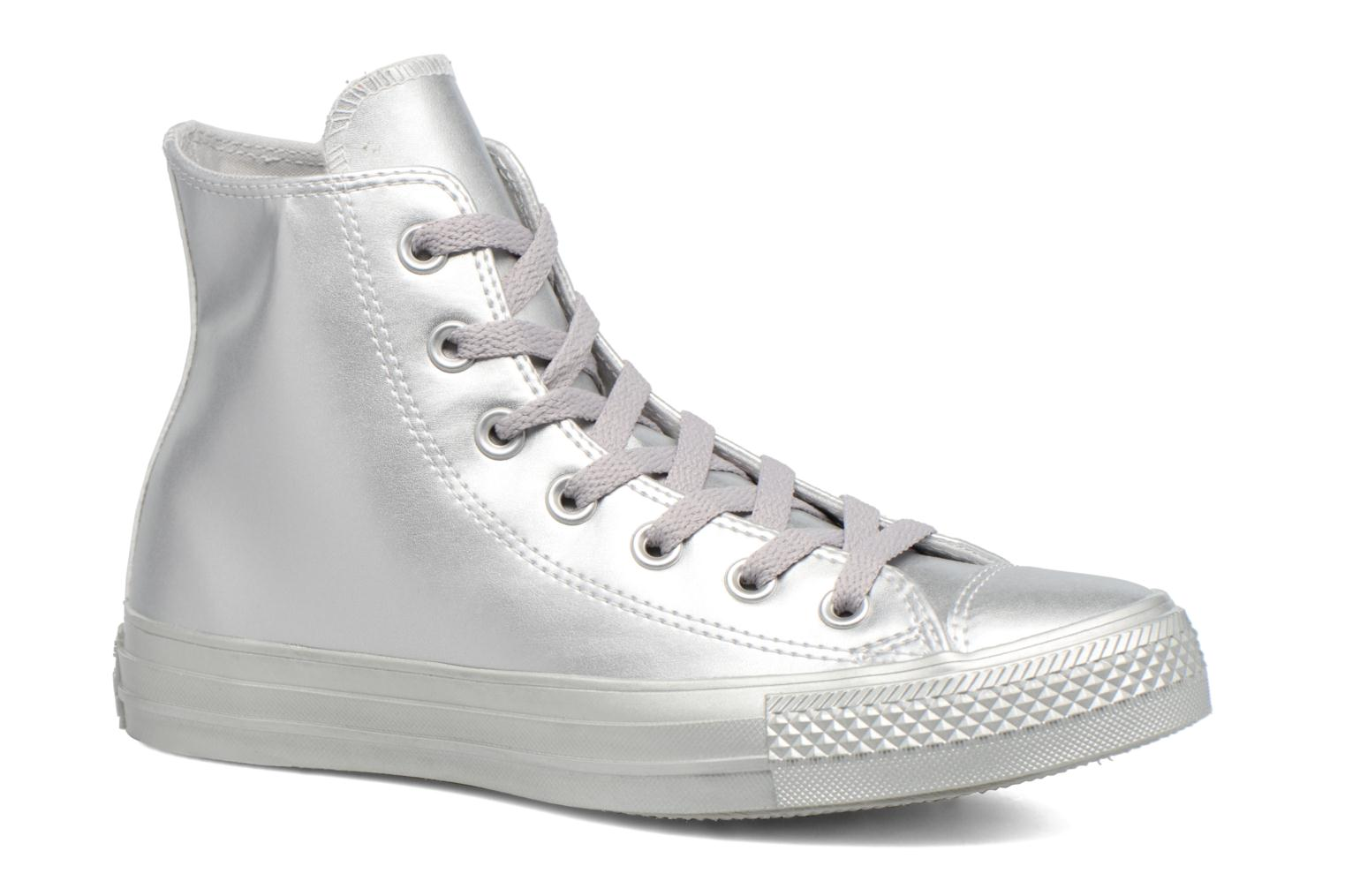 Chuck Taylor All Star Liquid Metallic Hi Silver/Silver/Silver