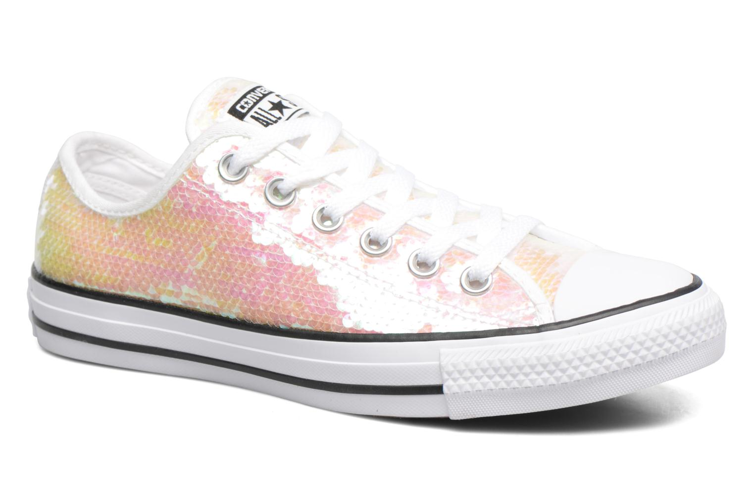 Chuck Taylor All Star Sequins Ox White/Black/White