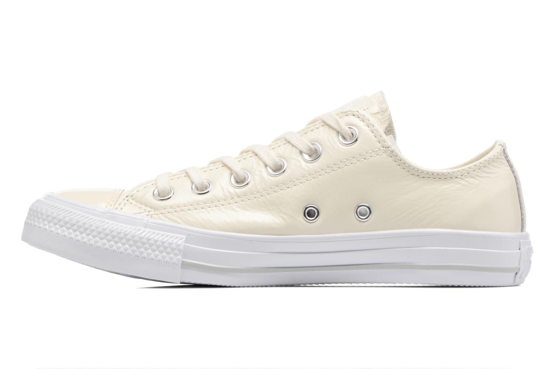 Zapatos promocionales Converse Chuck Taylor All Star Crinkled Patent Leather Ox (Blanco) - Deportivas   Cómodo y bien parecido