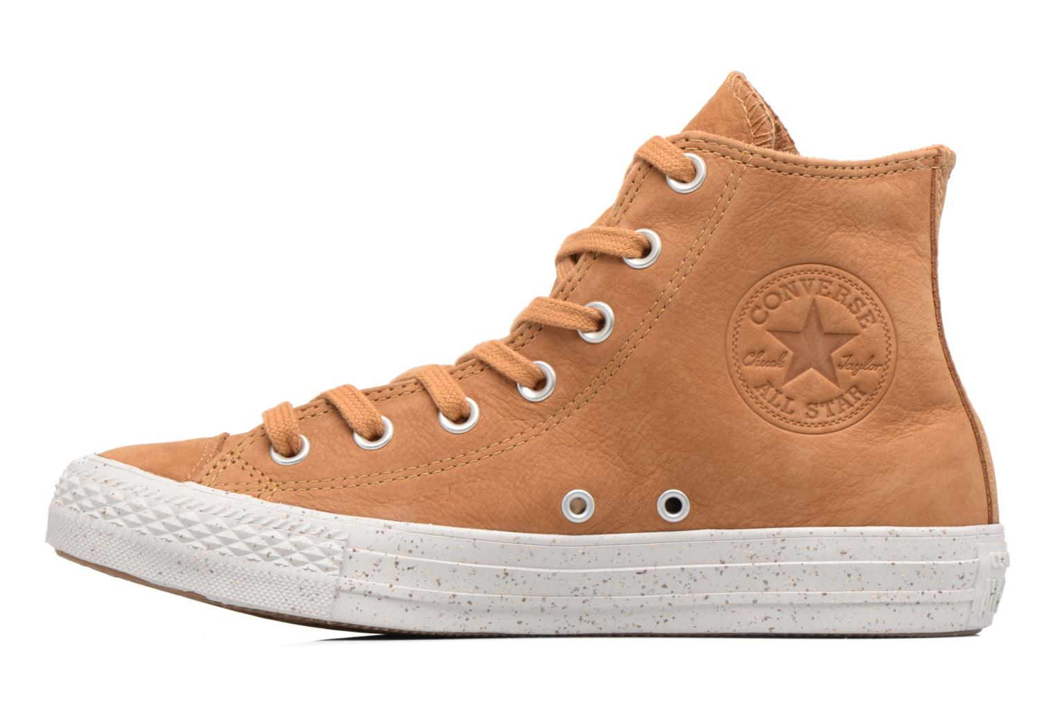 Chuck Taylor All Star Nubuck Hi W Raw Sugar/Malted/Pale Putty