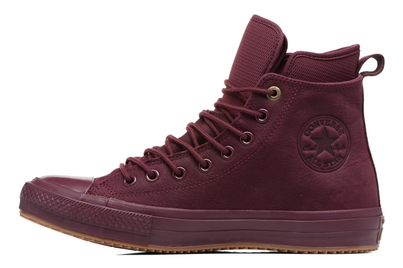 Sneakers Converse Chuck Taylor WP Boot Nubuck Hi Bordeaux voorkant