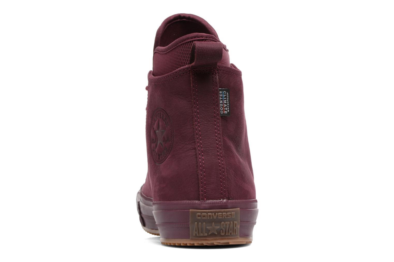 Sneakers Converse Chuck Taylor WP Boot Nubuck Hi Bordeaux rechts