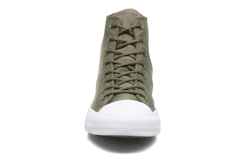 Baskets Converse Chuck Taylor All Star Cordura Hi Vert vue portées chaussures