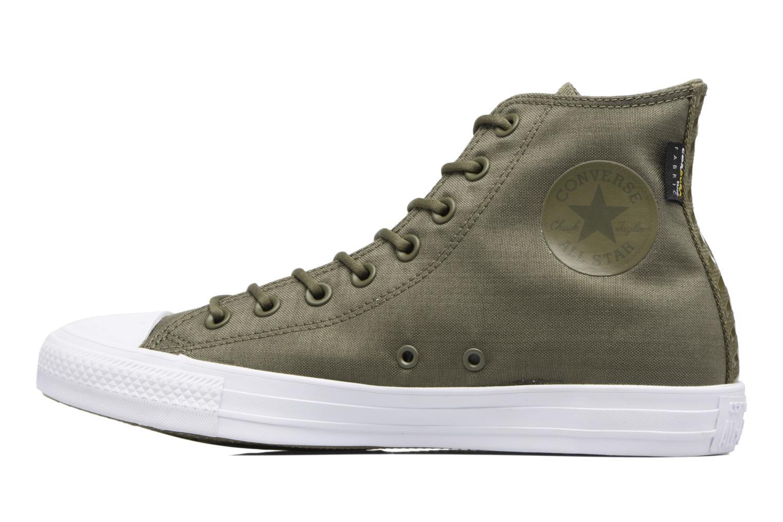 Sneaker Converse Chuck Taylor All Star Cordura Hi grün ansicht von hinten