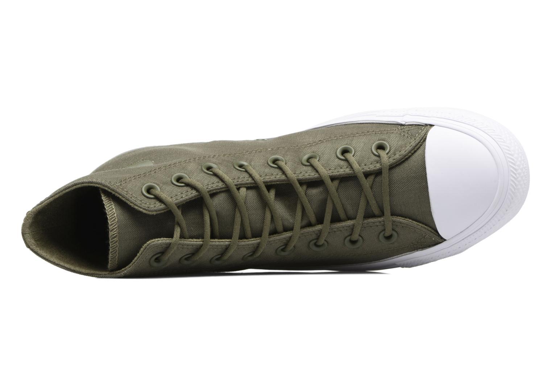 Sneaker Converse Chuck Taylor All Star Cordura Hi grün ansicht von links