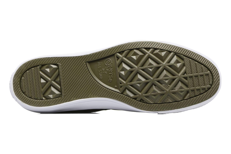 Sneaker Converse Chuck Taylor All Star Cordura Hi grün ansicht von oben
