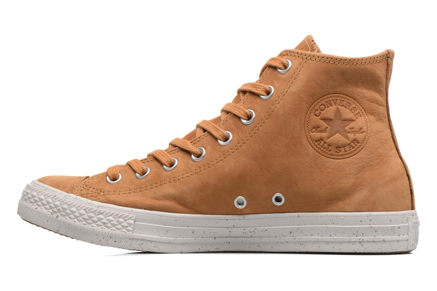 Baskets Converse Chuck Taylor All Star Nubuck Hi M Marron vue face