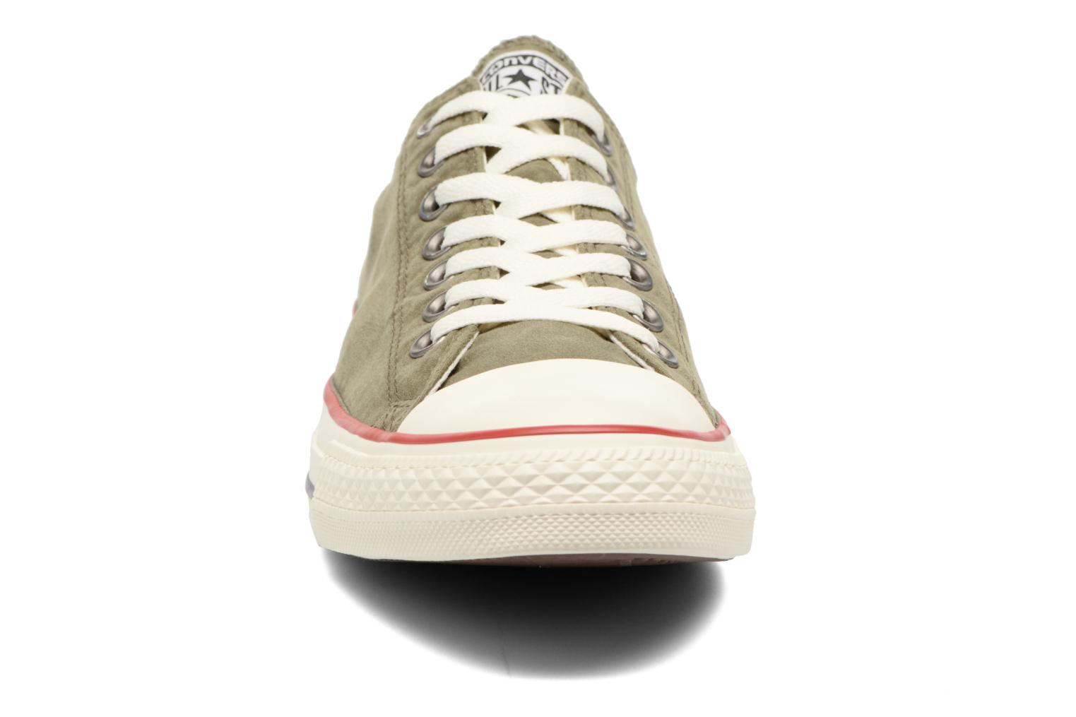 Baskets Converse Chuck Taylor All Star Ombre Wash Ox M Vert vue portées chaussures