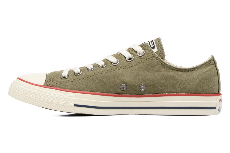Sneaker Converse Chuck Taylor All Star Ombre Wash Ox M grün ansicht von vorne