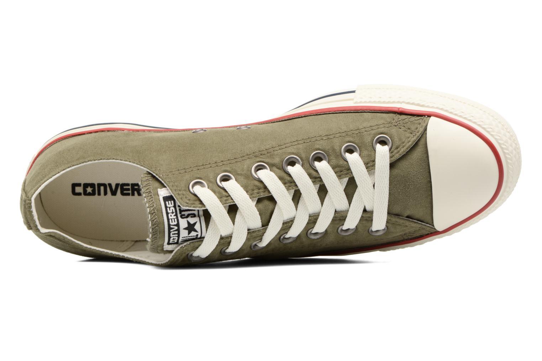 Sneaker Converse Chuck Taylor All Star Ombre Wash Ox M grün ansicht von links