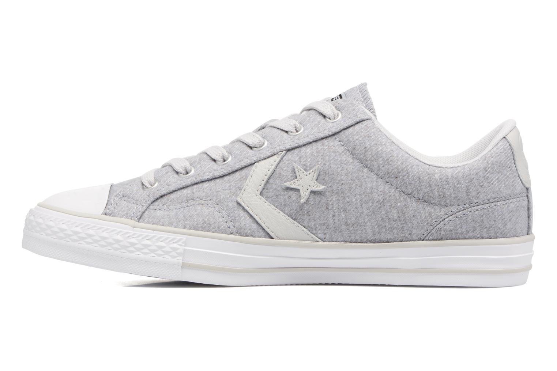 Sneaker Converse Star Player Textile Ox grau ansicht von vorne