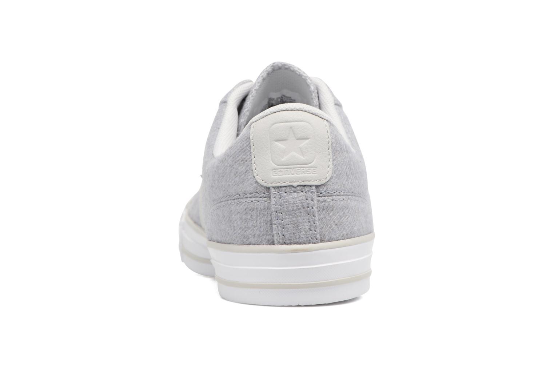 Sneaker Converse Star Player Textile Ox grau ansicht von rechts