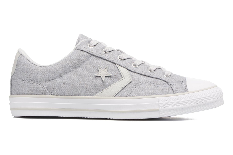 Sneaker Converse Star Player Textile Ox grau ansicht von hinten
