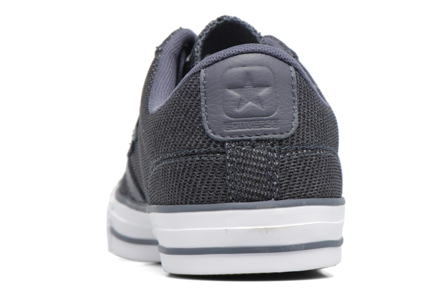 Baskets Converse Star Player 3 Color Herringbone Ox Gris vue droite