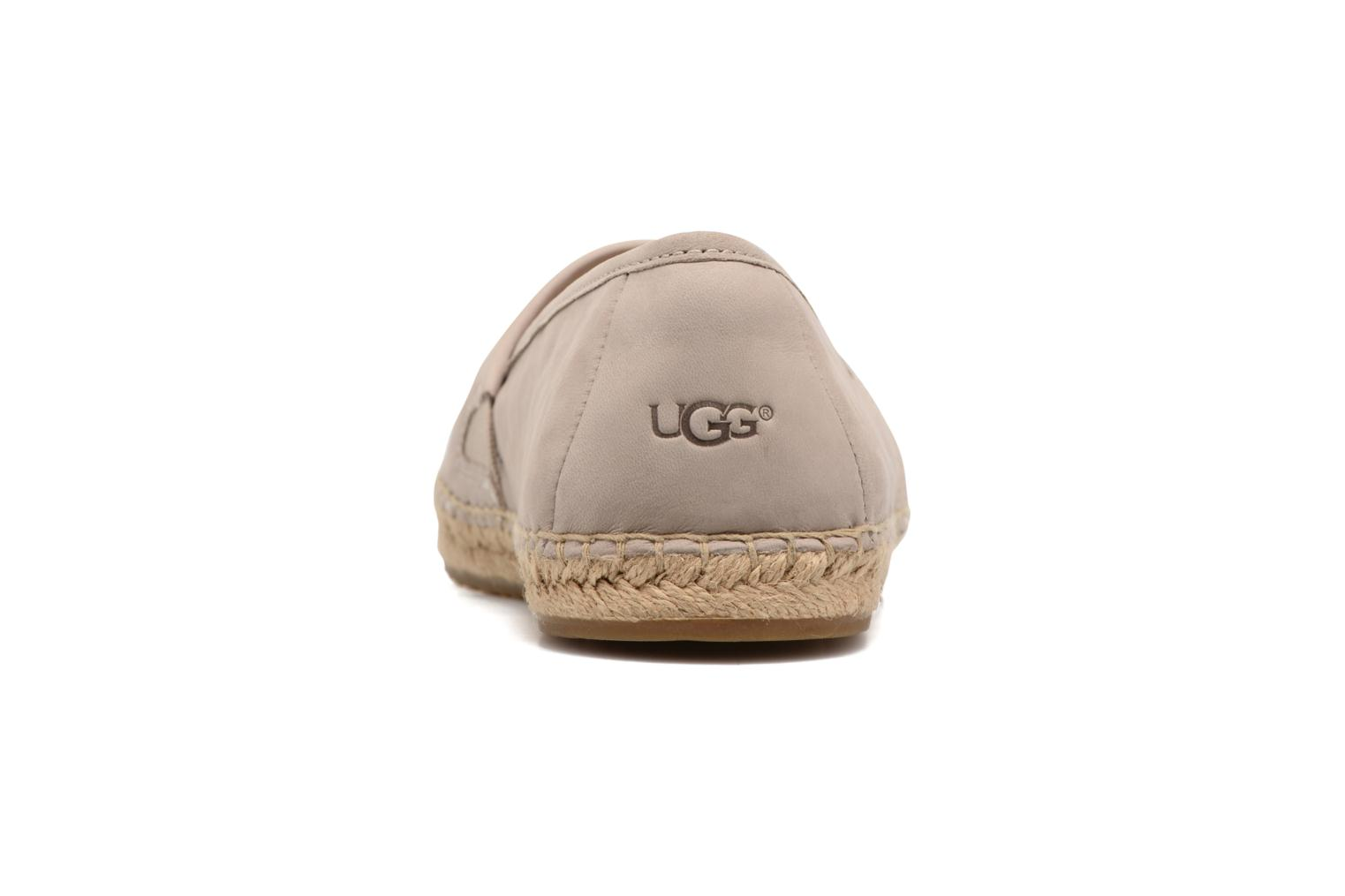 Espadrilles UGG Kas Capra Beige view from the right