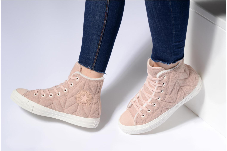 Sneakers Converse Chuck Taylor All Star Wool Hi Roze onder