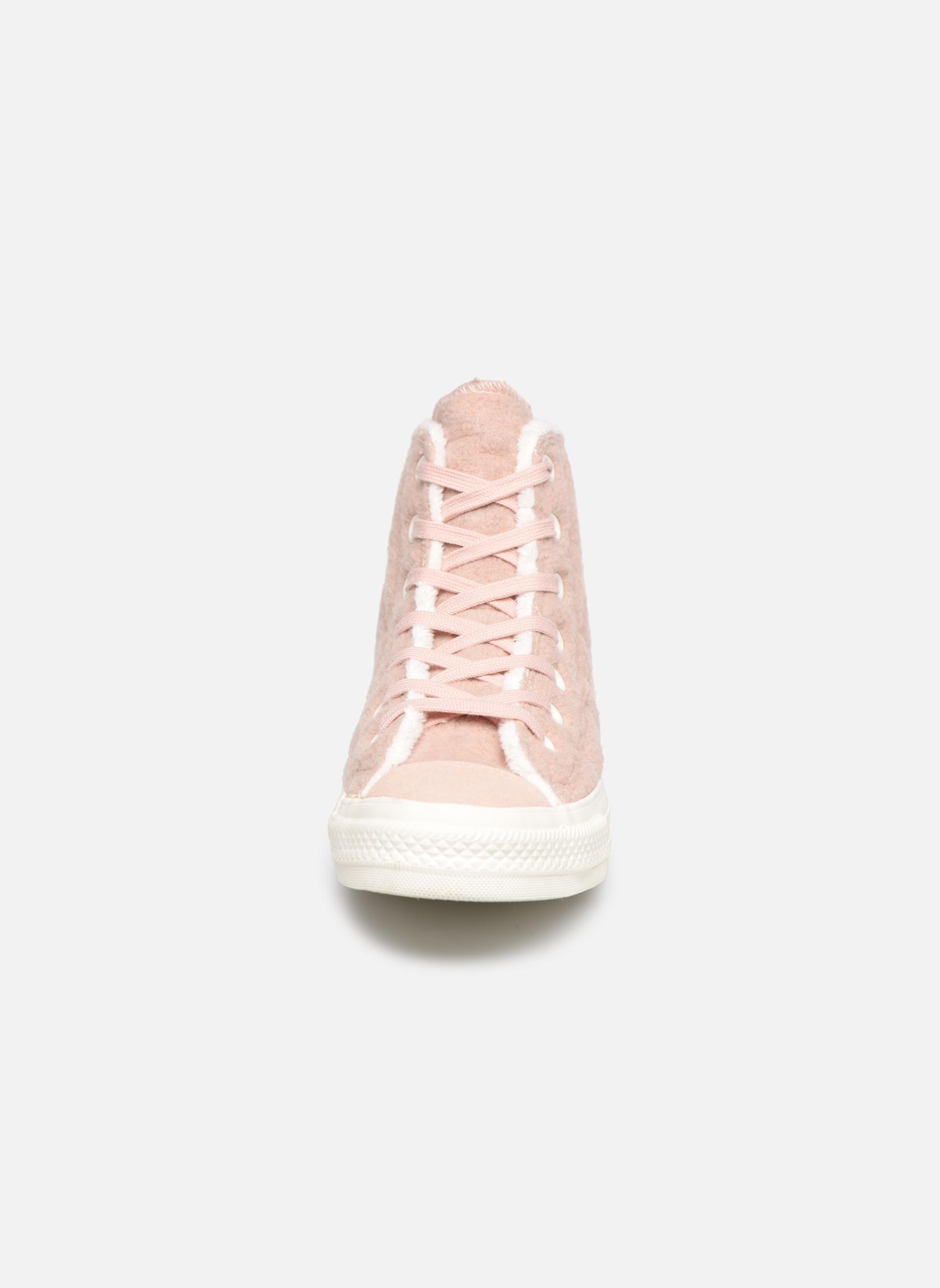 Sneakers Converse Chuck Taylor All Star Wool Hi Roze model