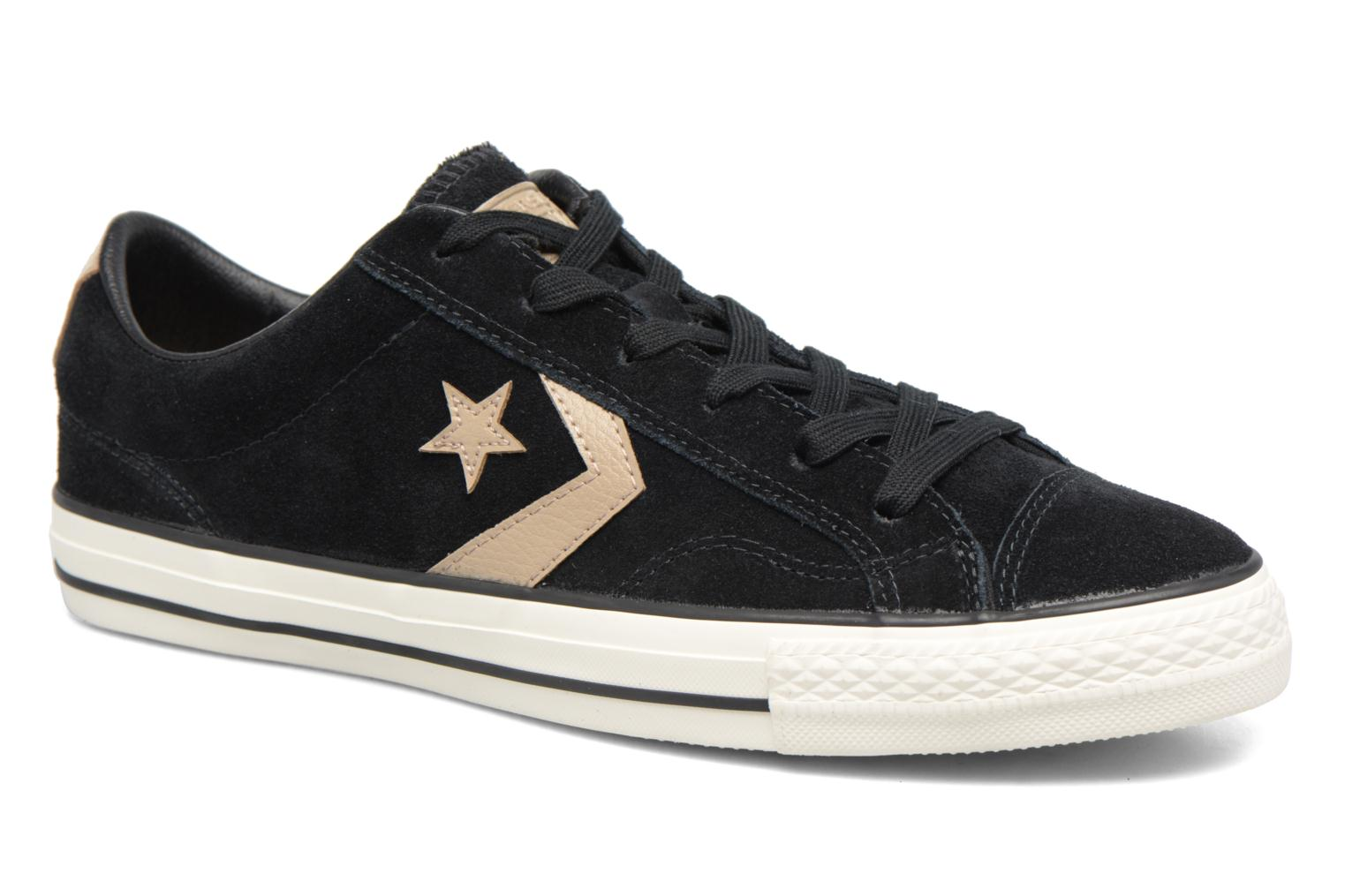 Star Player Modern Suede Ox Black/Khaki/Egret
