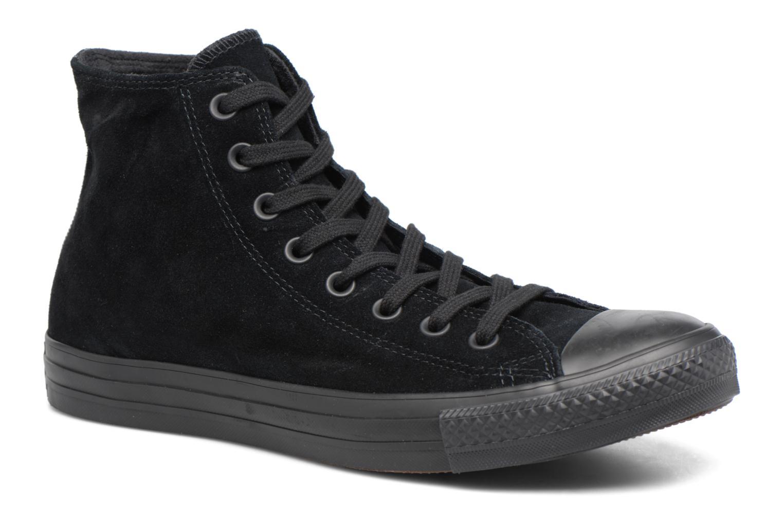 Sneaker Converse Chuck Taylor All Star Plush Suede Hi schwarz detaillierte ansicht/modell